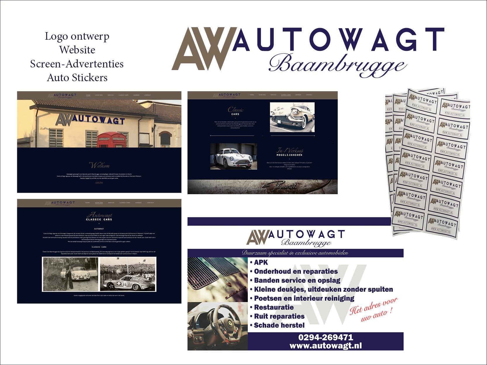 website visitekaartjes logo ontwerp