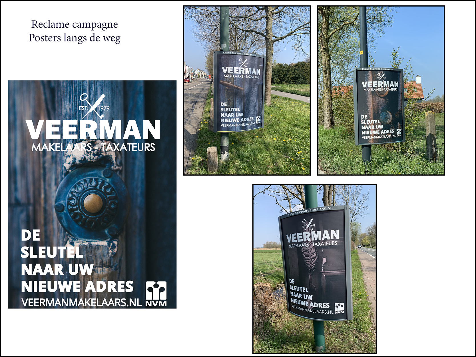 Veerman Makelaars Posters